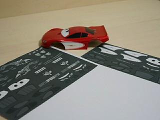 Lightning McQueen デカール