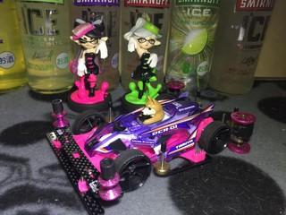 DCR-01 purple×pinky MA 🤮