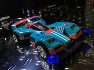トライダガーX 70年代ストックカーレース風