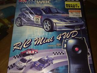 ラジ四駆シリーズNo.2   PEUGEOT206WRC