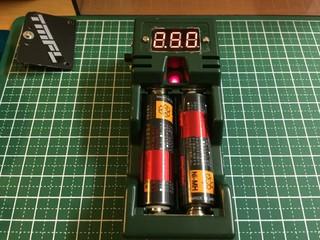 放電器 電圧計付き