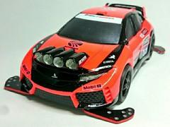 シビックタイプR 「WRC版」