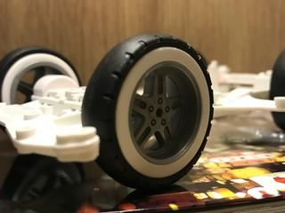 超大径ホワイトリボンバレル