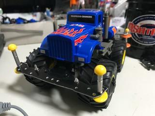 青いトラック2