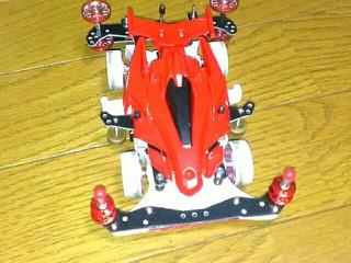 アバンテmarkⅢ赤 MAシャーシ