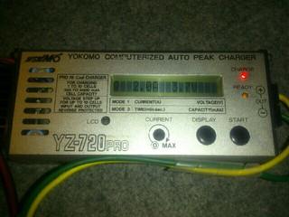 充電器33台目 ヨコモYZ-720PRO
