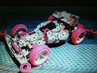 Prototype Hello Kitty Racer 😁
