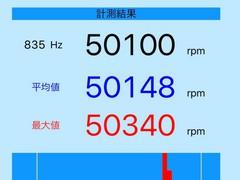 スプリントダッシュ慣らし(2.4Vで50krpm)