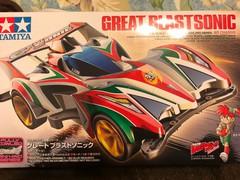 フルカウルミニ四駆シリーズ グレートブラストソニック