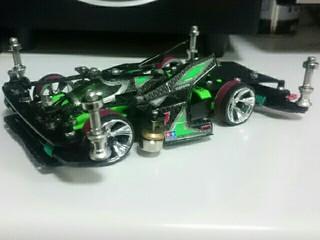 黒緑サンダー