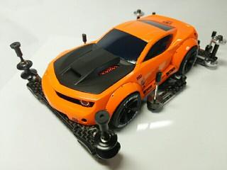オレンジ色のラウディーブル