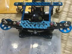 公式車改造日記②・スラスト連動提灯用簡易ピボット(仮)