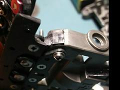 C-ATバンパー ピボットのストッパー補強