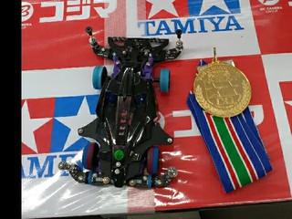越谷コジマで金メダル頂きました!(*^ワ^*)