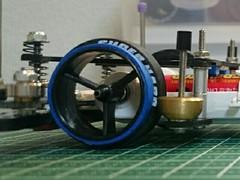 カーボン大径ハーフタイヤ(29mm)(ブルーダミー)