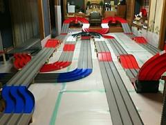 K2サーキット ミニ四駆合宿260mレイアウト