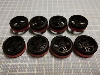 Carbon reinforced large diameter wheels