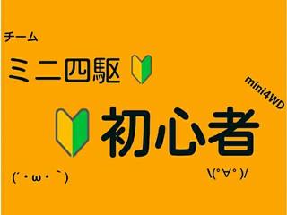 ミニ四駆初心者  チームアイコン