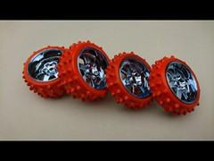 カラースパイクタイヤ製作手順