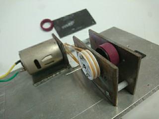 ペラタイヤ加工治具