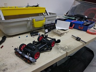 Experiment on FM-A chassis