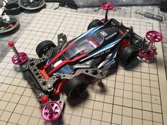 MAデクロス3号車:軽量化