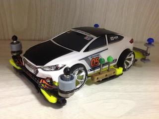 ヒュンダイアバンテ スポーツRS GTクラス