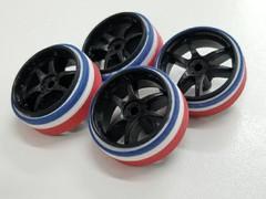 Thai flag color tires