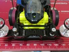 逆付け作業長代理式フロントピボットバンパー