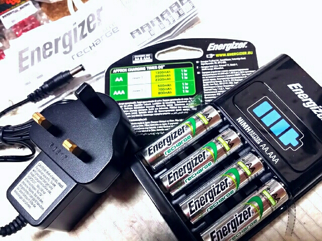 Energizer AA AAA charger (1h type)