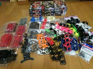ミニ四駆ストックパーツ断捨離[2015/4/7]