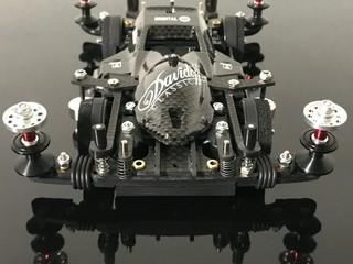 フルカーボンゴムピボット