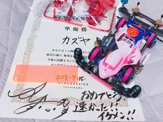 オジャガのレース2位!!!!!!!
