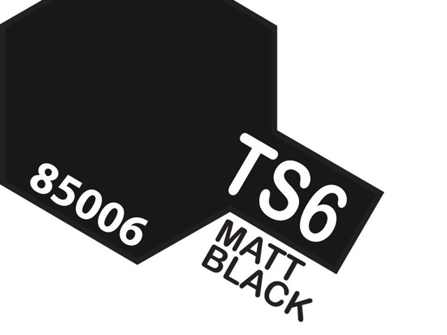 Tamiya TS-6 Matt Black