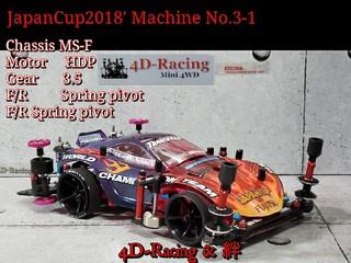 JapanCup2018' No.3-1 新トルクルーザー