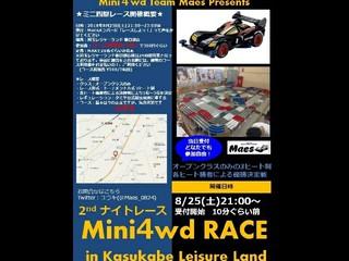 8.25Maesカップナイトレース