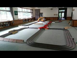 旧瀬見小学校 semi四駆 山形県最上町