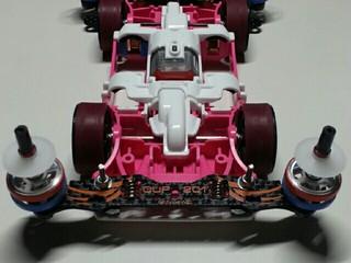 バネ式ピボットフロントバンパー