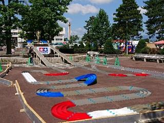 美唄市のお祭りイベントのサーキット