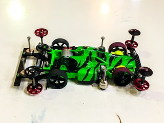 VS-chassis 3レーン スイカ🍉