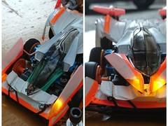 LLS-01アクアーダ(サイバーミニ四駆ゆきだるまver)