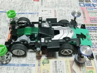 ネオトライダカー改 フロント提灯 キャッチャーダンパー 完成