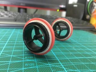 High speed 35mm wheel