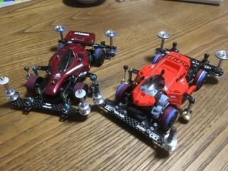 旧車好き スーパーTZとSFM