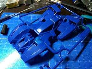 ガンブラスターRed × Blueと今後の製作予定