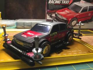 BLACK HK GT TAXI