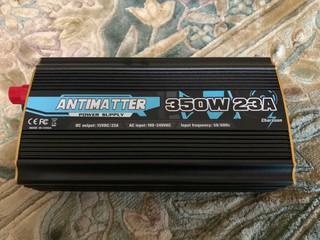 ANTIMATTER 安定化電源 350w 23a