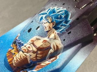 Goku blu