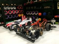 Mini4WD Garage Diorama 1