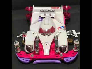 トヨタ ガズーレーシング ホワイトピンク